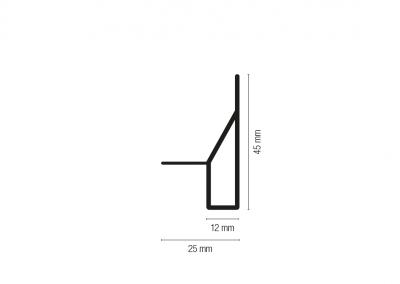 Art. 2794 – Angolare a sormonto