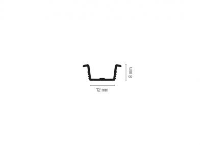 Art. 905 – Guida per fresata 12 mm