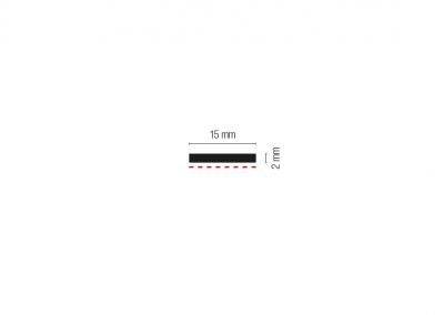 Art. 909 – Profilo magnetico biadesivo
