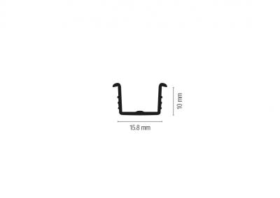 Art. 830 – Guida per fresata 15,8 mm