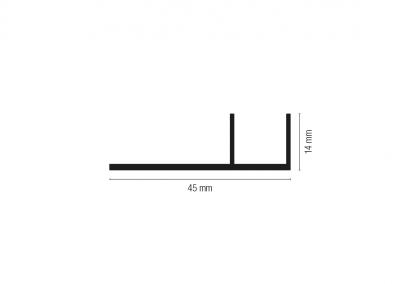 Art. 936 – Guida in appoggio con fissaggio laterale