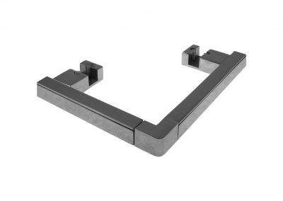 Art. KIT CSK-90 – Kit completo per il fissaggio e la finitura a pavimento dei box doccia ad angolo a doppia anta RSK90 e TSK90