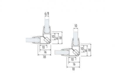 Art. PS-10M – Guarnizione magnetica per chiusure a 90°