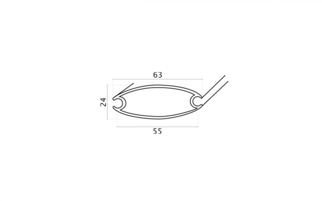 Art. 851 – Profilo ovale