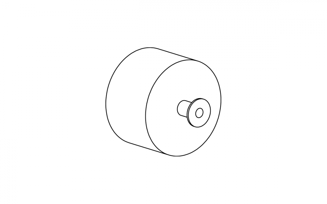 Art. 5182 – Spacer for furniture thickness 32 mm