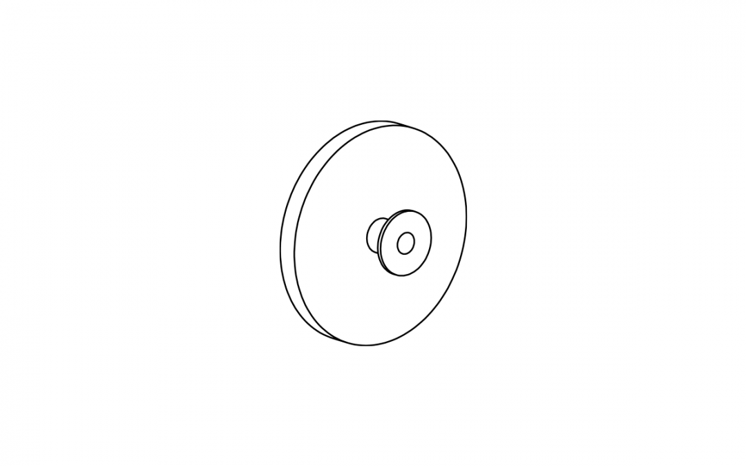 Art. 5207 – Spacer for furniture thickness 5 mm