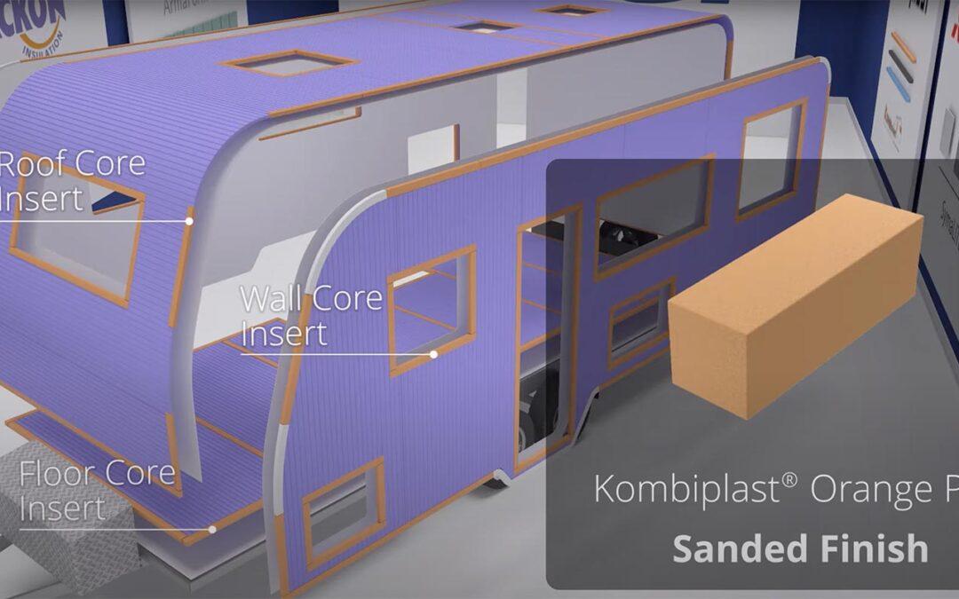 Profili Komplast Kombiplast® PVC e PS per la costruzione di camper in composito